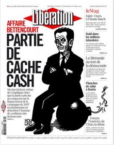 Honoré à la une de Libération