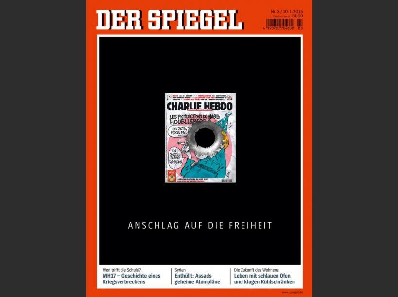 La une du Spiegel dédiée à Charlie Hebdo
