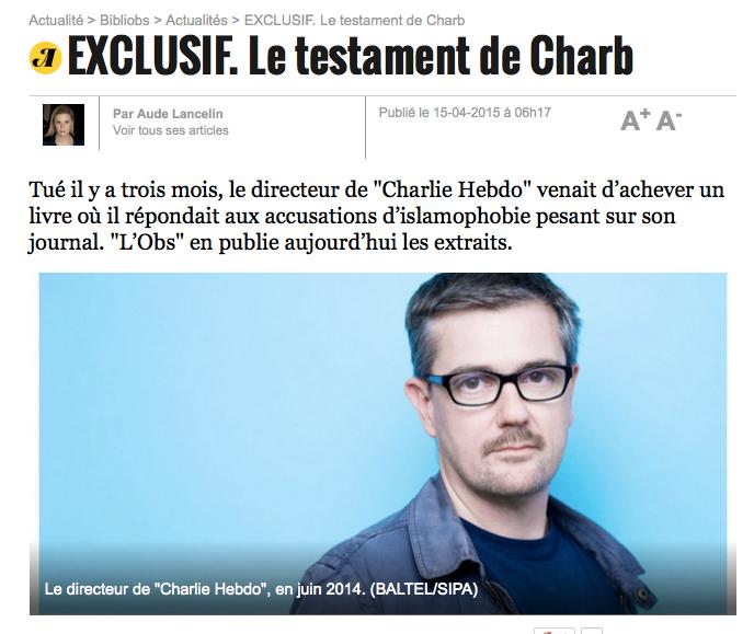 Charb-Obs