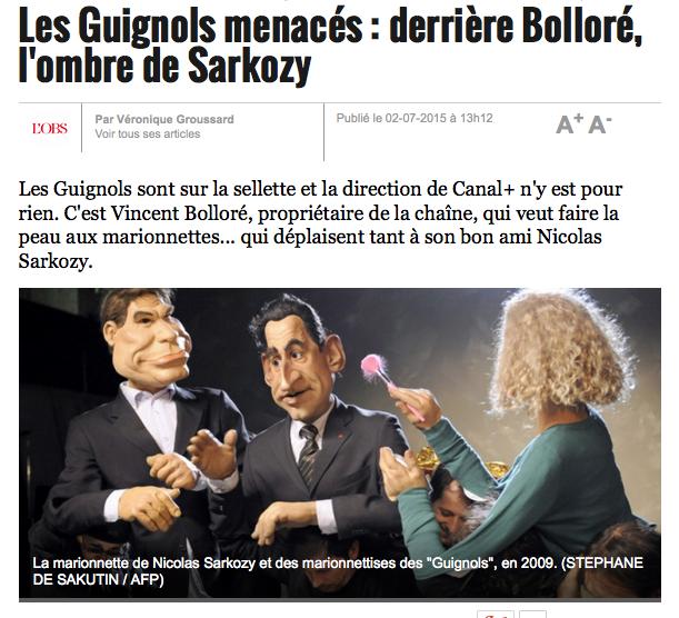 Guignols 2015