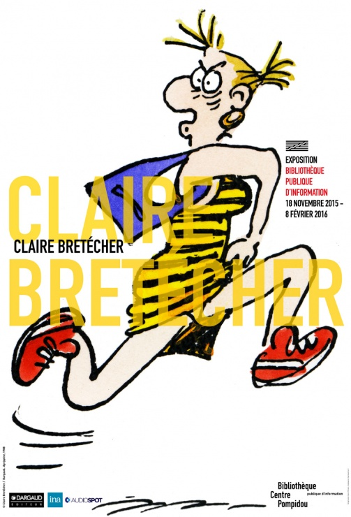 Affiche Claire Bretecher