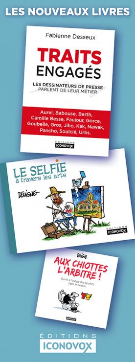 Découvrez les nouveaux livres de DELIGNE et Fabienne DESSEUX aux Editions Iconovox